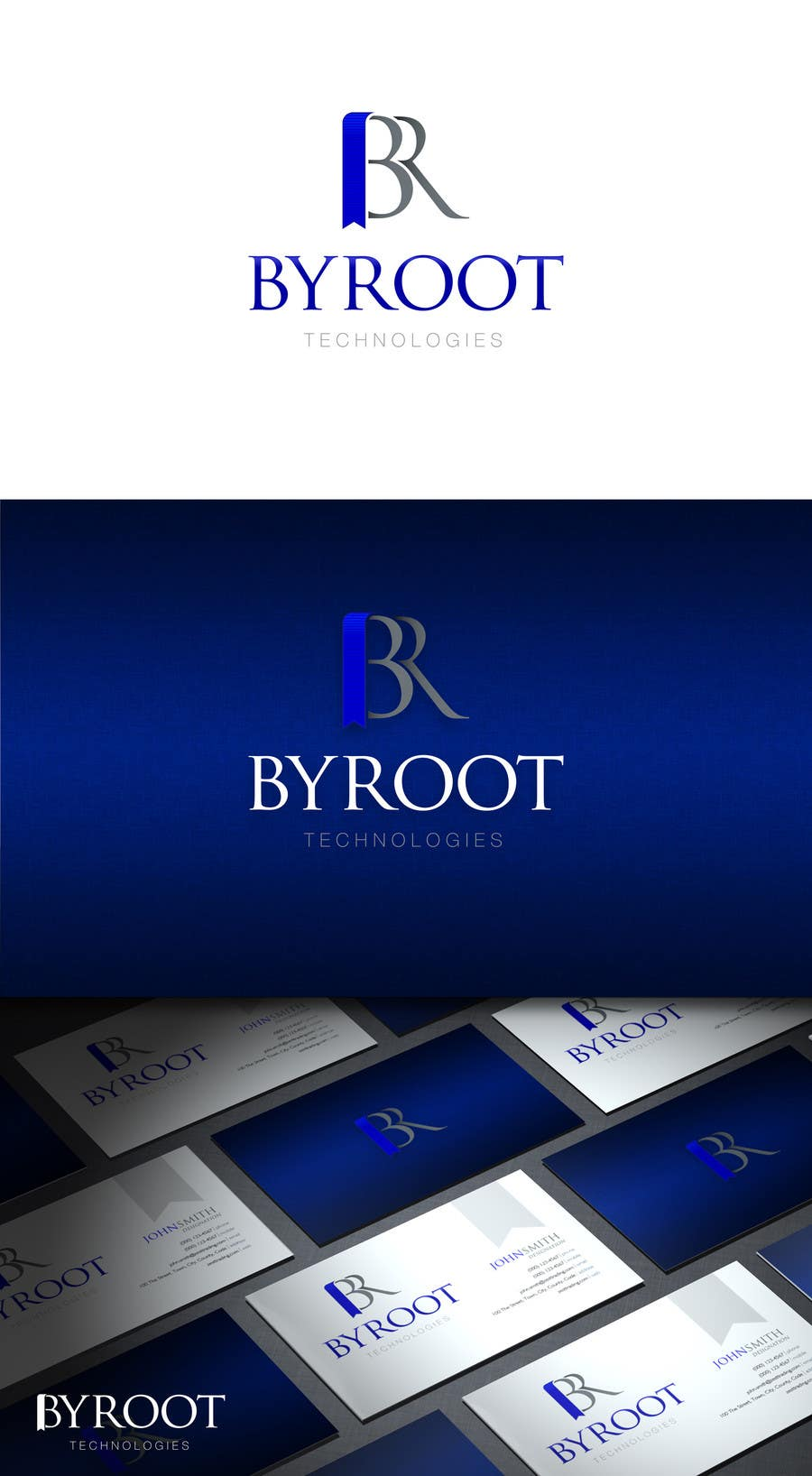 #48 for Develop a Corporate Identity for byroot Technologies by HallidayBooks