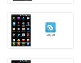 "#66 for Design a Logo for a mobile application ""Loquor"" by webngraphicgroup"