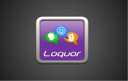 "#46 for Design a Logo for a mobile application ""Loquor"" by riadbdkst"