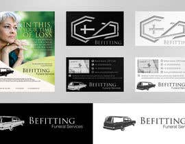 #23 para Design a  logo, business card and a flyer for  Hearse Rental Business por Simone97