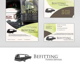 nº 28 pour Design a  logo, business card and a flyer for  Hearse Rental Business par Simone97