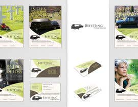 nº 33 pour Design a  logo, business card and a flyer for  Hearse Rental Business par Simone97