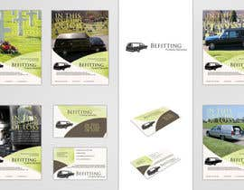 nº 35 pour Design a  logo, business card and a flyer for  Hearse Rental Business par Simone97
