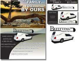 nº 59 pour Design a  logo, business card and a flyer for  Hearse Rental Business par melevisione