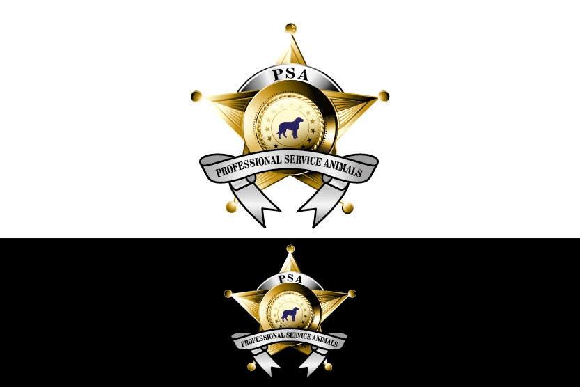 Bài tham dự cuộc thi #                                        24                                      cho                                         Design a Logo for PSA (Professional Service Animals)