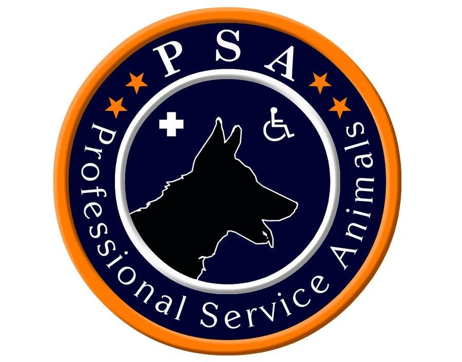 Bài tham dự cuộc thi #                                        8                                      cho                                         Design a Logo for PSA (Professional Service Animals)