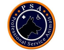 #8 para Design a Logo for PSA (Professional Service Animals) por bobbyfariz