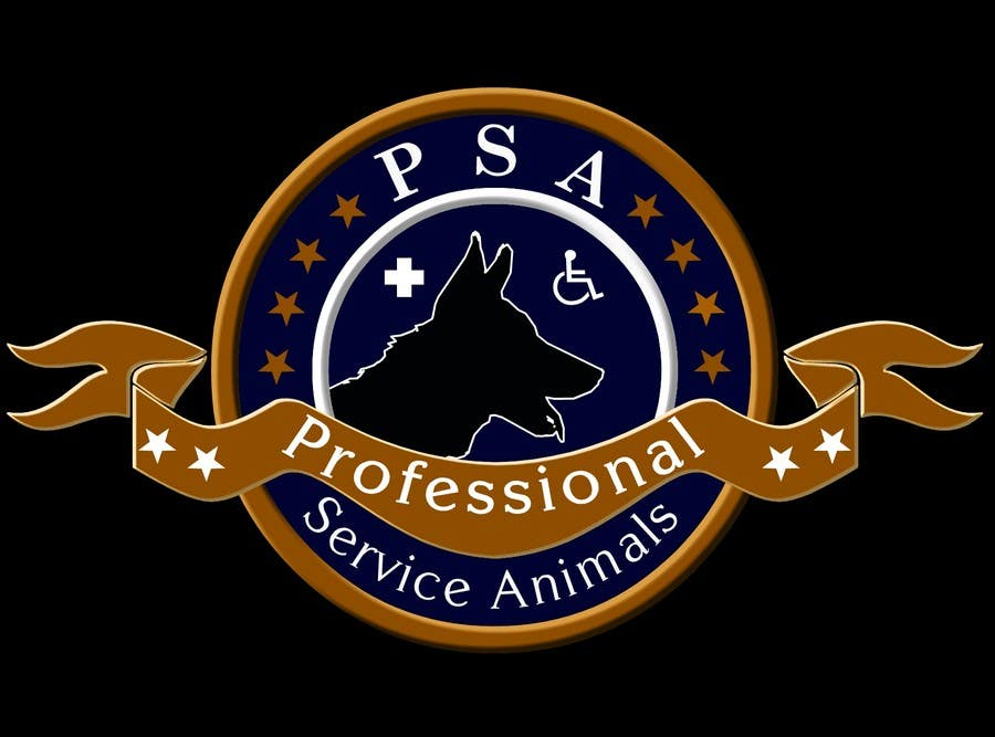 Bài tham dự cuộc thi #                                        25                                      cho                                         Design a Logo for PSA (Professional Service Animals)