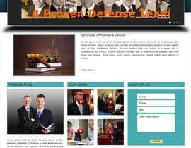 #12 for Front page for legal website by jihad312