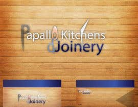 #12 untuk Design a Logo for Papallo Kitchens & Joinery oleh jumblestudio