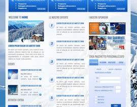 Nro 12 kilpailuun Disegnare la Bozza di un Sito Web for: offerte soggiorni (con attività) in località turistica di montagna käyttäjältä TemplateDigitale