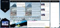 Bài tham dự #10 về Graphic Design cho cuộc thi Disegnare la Bozza di un Sito Web for: offerte soggiorni (con attività) in località turistica di montagna