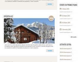 Nro 6 kilpailuun Disegnare la Bozza di un Sito Web for: offerte soggiorni (con attività) in località turistica di montagna käyttäjältä tety87