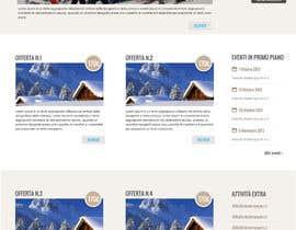 #9 cho Disegnare la Bozza di un Sito Web for: offerte soggiorni (con attività) in località turistica di montagna bởi tety87