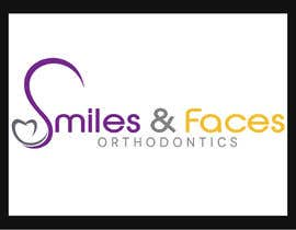 #42 untuk Design a Logo for Smiles & Faces Orthodontics oleh rivemediadesign