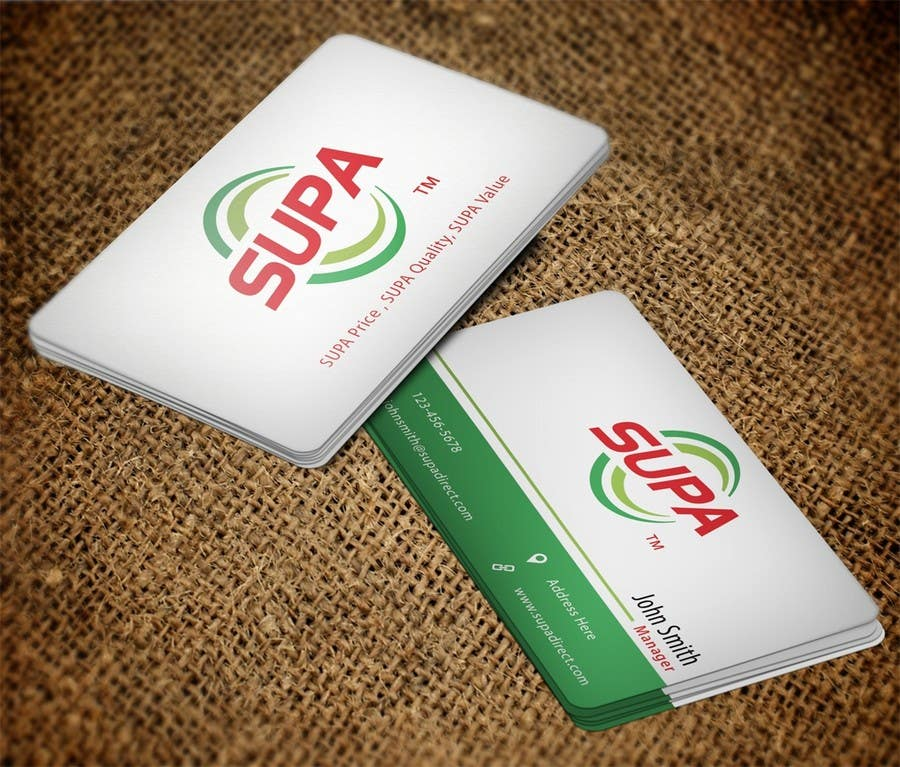 #23 for Develop a Corporate Identity for SUPA brand by pankaj86