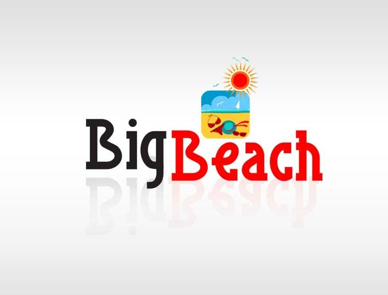 Entry #92 by saneshgraphic11 for Logo Design for Big Beach | Freelancer