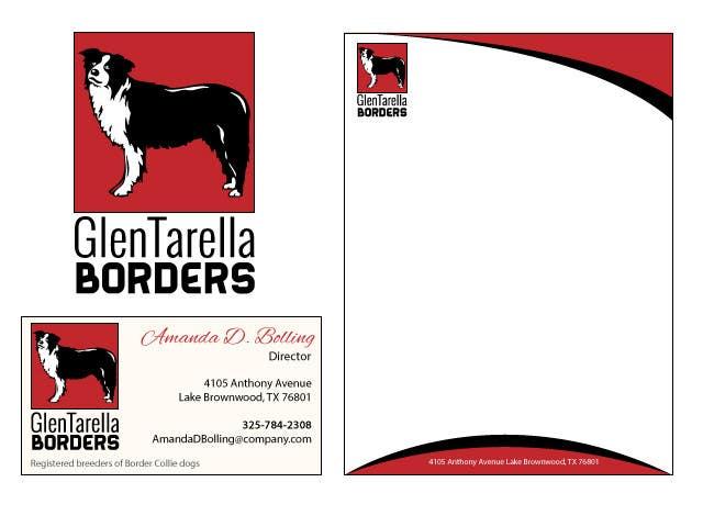 Contest Entry #28 for I need some Graphic Design for GlenTarella Borders