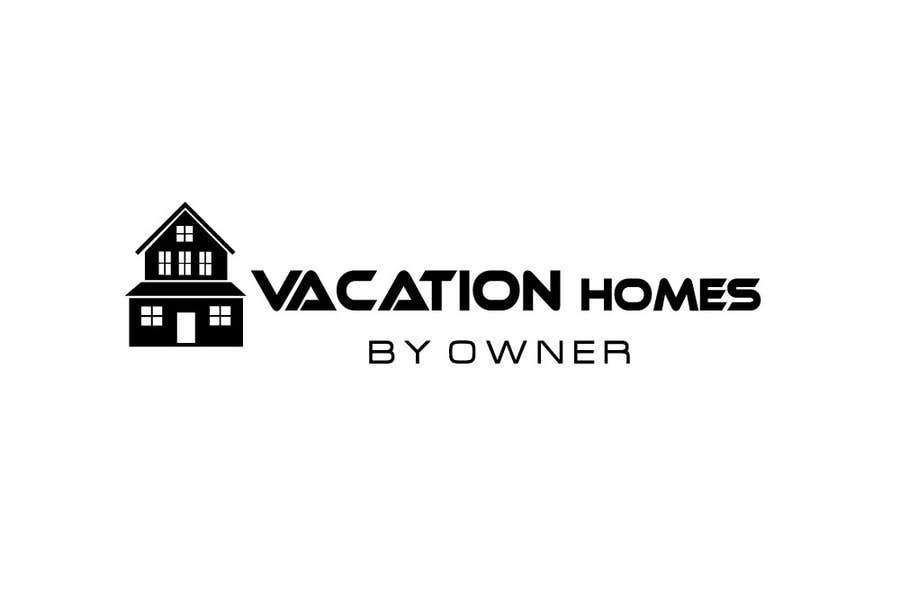 """Bài tham dự cuộc thi #51 cho Logo design """"vacation homes by owner"""""""