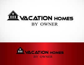 "#72 untuk Logo design ""vacation homes by owner"" oleh polashrockz"