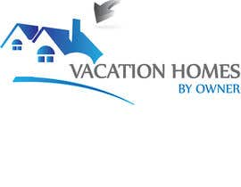 "nº 61 pour Logo design ""vacation homes by owner"" par manuel0827"