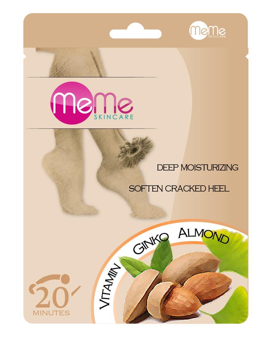 Inscrição nº 5 do Concurso para Create Packaging Designs for foot treatment pouch