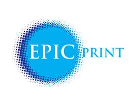 #29 pentru Graphic Design for Epic Print de către graphicmaestro
