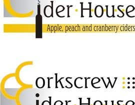 #11 para Design a Logo for Corkscrew Cider House por szon