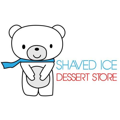 Bài tham dự cuộc thi #                                        34                                      cho                                         Design a Logo for shaved ice dessert store