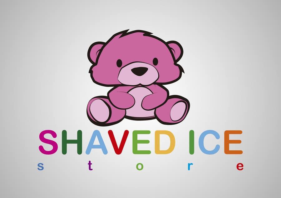 Kilpailutyö #48 kilpailussa Design a Logo for shaved ice dessert store