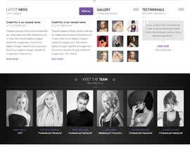 #4 for Upgrade an existing nail salon website af dgnwebs