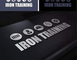 #470 para Design a Logo for IRON TRAINING por ideaz13