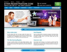 #40 para Design a banner for a star naming website por GeorgeFlashHTML5