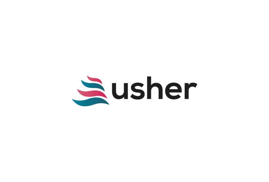 Bài tham dự cuộc thi #                                        93                                      cho                                         Design a Logo for a product names Usher