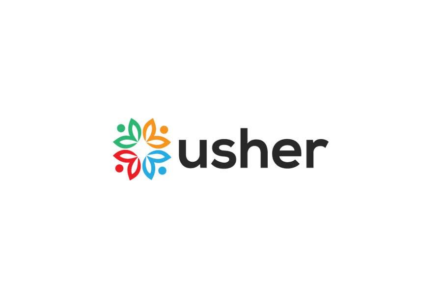 Bài tham dự cuộc thi #                                        94                                      cho                                         Design a Logo for a product names Usher