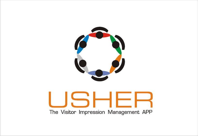 Bài tham dự cuộc thi #                                        91                                      cho                                         Design a Logo for a product names Usher