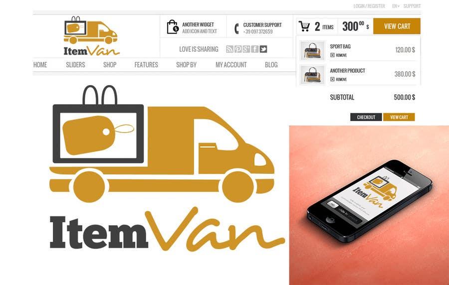 Kilpailutyö #                                        20                                      kilpailussa                                         Design a Logo for a upcoming unique E-commerce store !