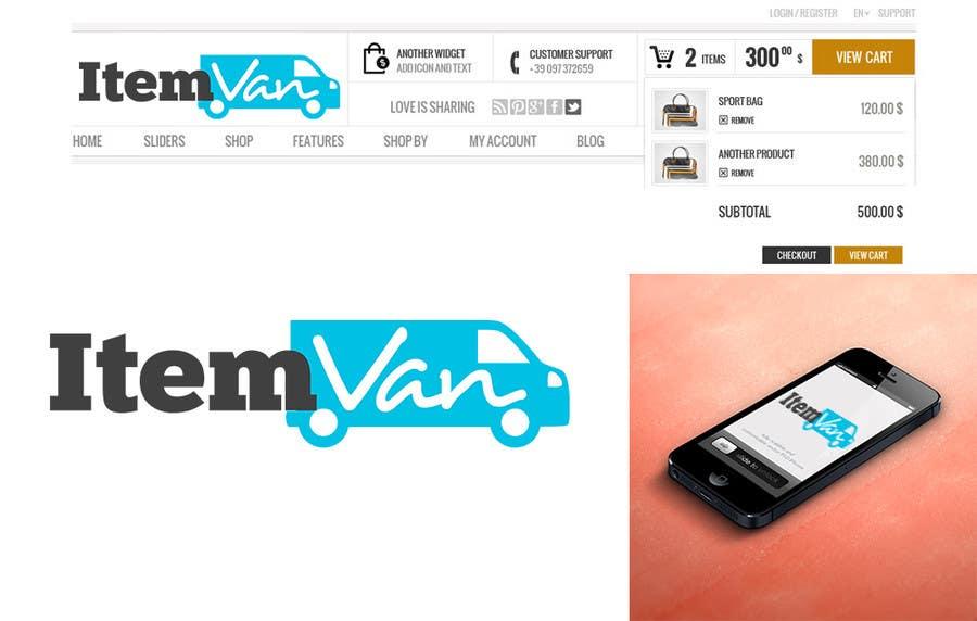 Kilpailutyö #                                        28                                      kilpailussa                                         Design a Logo for a upcoming unique E-commerce store !