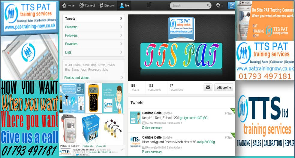 #10 for Design a Twitter background for me by Salimaldeen