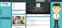 #6 for Design a Twitter background for me by hussamalzubaidi