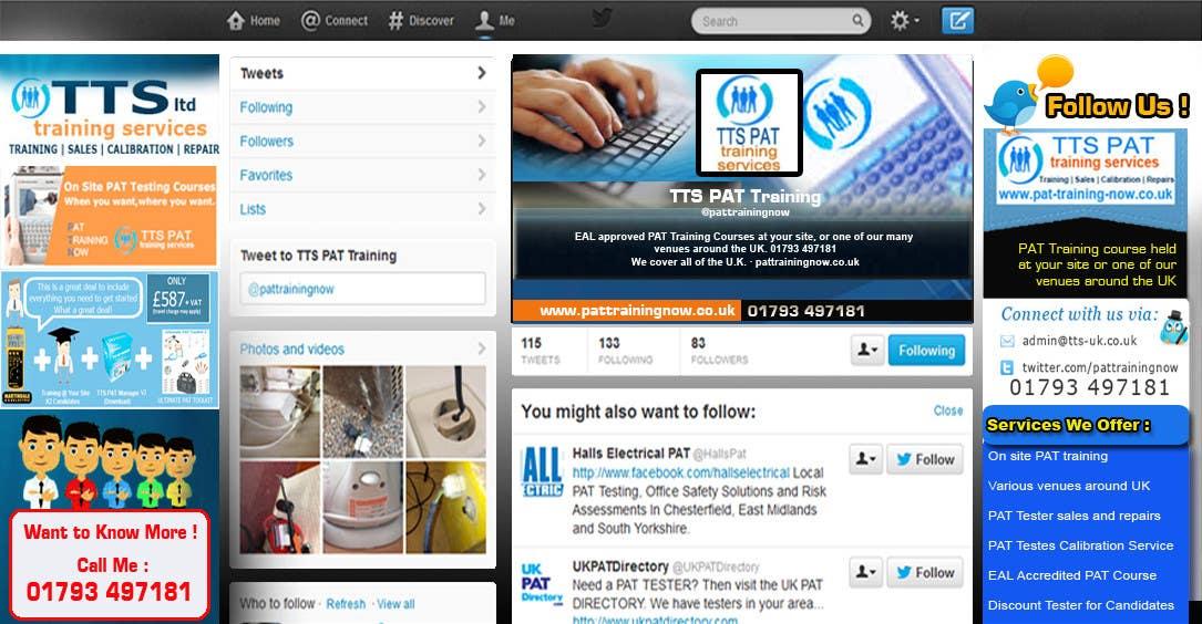 Inscrição nº                                         12                                      do Concurso para                                         Design a Twitter background for me