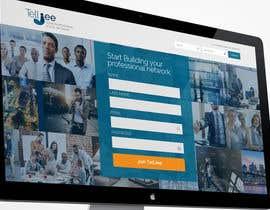 #113 para Design a Website Mockup for a Business Social Network like Linkedin de cbastian19