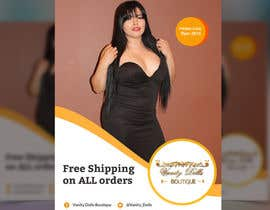 #11 for Online Clothing Boutique Flyer VANITY DOLLS BOUTIQUE by islamrobi714