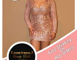 #15 for Online Clothing Boutique Flyer VANITY DOLLS BOUTIQUE by NoureddineAL