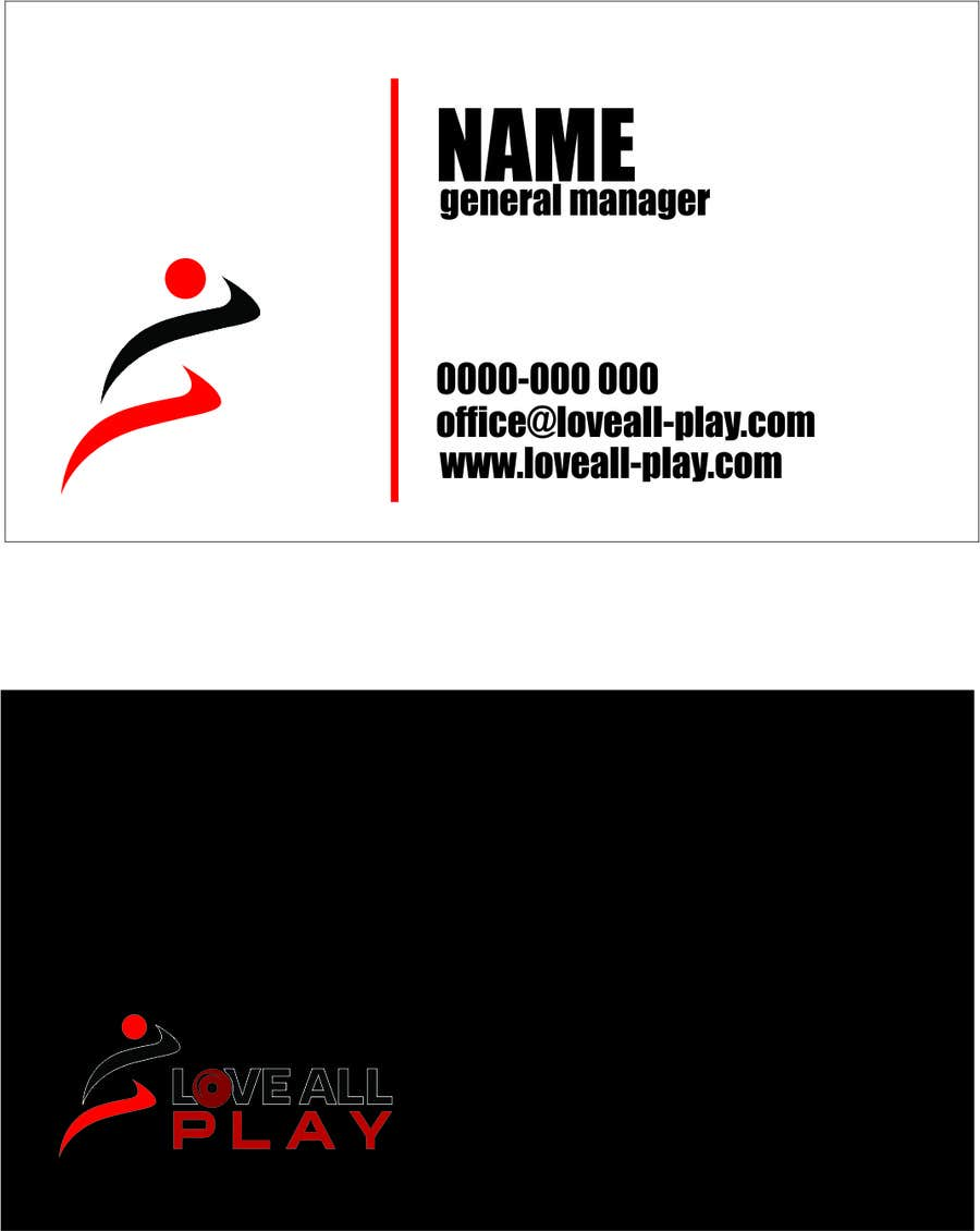 #9 for Design some Business Cards for an Online Sports Store by soporandan