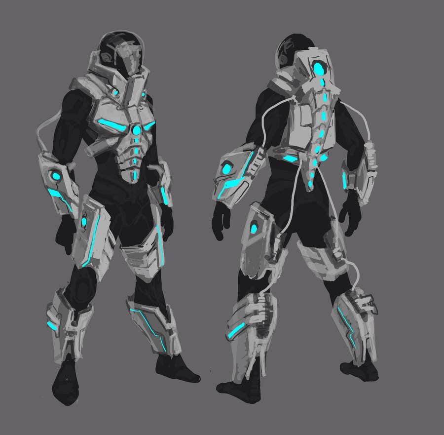 Entry #22 By Borzyanich For Power Suit / Space Suit Design