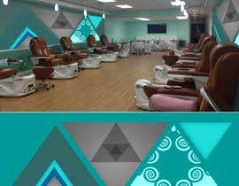 #23 para Create wall design for a nail spa por pringsalinas