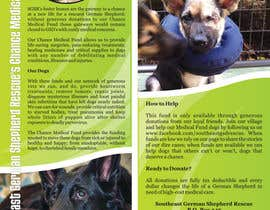 #14 for Design a Brochure for Southeast German Shepherd Rescue's Chance Medical Fund af diskojoker