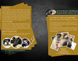 #12 untuk Design a Brochure for Southeast German Shepherd Rescue's Chance Medical Fund oleh xsodia