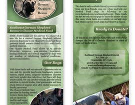 #6 for Design a Brochure for Southeast German Shepherd Rescue's Chance Medical Fund af rimskik